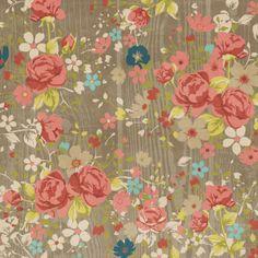 Now & Then - Floral 30,5 x 30,5 cm