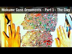 Mokume Gane Polymer Clay Ornament Part 1 - YouTube
