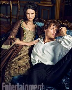 Outlander Season 2 Entertainment Weekly Photoshot wallpaper probably with a drawing room in The Claire & Jamie Fraser Club Jamie Fraser, Claire Fraser, Jamie And Claire, Outlander Casting, Outlander Tv, Outlander Series, Outlander Costumes, Outlander Funny, Gabaldon Outlander