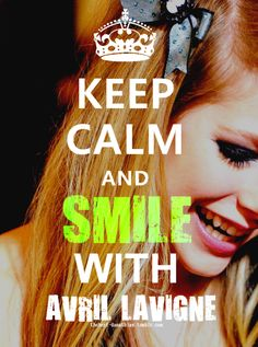 avril lavigne - SMILE <3