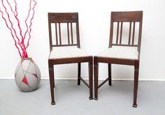 Stuhl Gründerzeit Jugendstil neu bezogen von silent-cube auf DaWanda.com