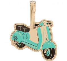 scootah luggage tag #ridecolorfully