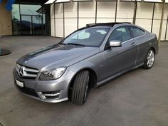 My Mercedes C Class Coupe, prep car of course