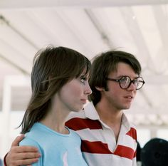 Shelley Duvall and Bud Cort, Brewster McCloud