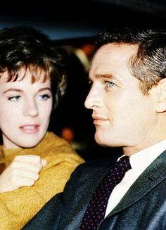 Julie Andrews and Paul Newman