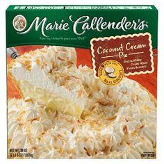 Marie Callender's Coconut Cream Pie 38 oz