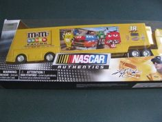 2011 Kyle Busch #18 MMs M Toyota Camry Hauler Trailer Tractor Semi Rig Transporter Truck 1/64 Scale NASCAR Authentics Metal Cab, Plastic Trailer by NASCAR Authentics. $34.75. 2011 Kyle Busch #18 MMs M Toyota Camry Hauler Trailer Tractor Semi Rig Transporter Truck 1/64 Scale NASCAR Authentics Metal Cab, Plastic Trailer. Tractor/Cab is metal diecast, trailer is plastic. 2011 Kyle Busch #18 MMs M Toyota Camry Hauler Trailer Tractor Semi Rig Transporter Truc...
