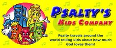 Psalty's Kids: Psalty travels all around the world telling kids about how much God loves  them!