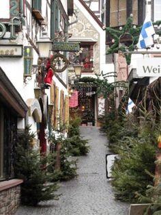 Rüdesheim Christmas Market   www.germanyja.com