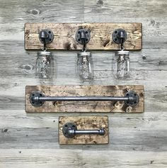 Image Gallery For Website ALL IN ONE BATHROOM SET This industrial rustic one of a