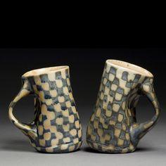 checkered cups elizabeth kendall.jpg (750×750)