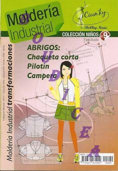 Mujeres y alfileres: Moldería industrial niños - María Zaragoza -