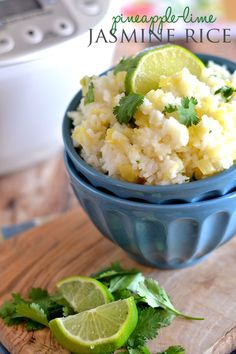 With only four ingredients and the push of a button, this Pineapple-Lime Jasmine Rice comes together in a flash. Plus, it's the perfect side-dish for spring and summer meals!