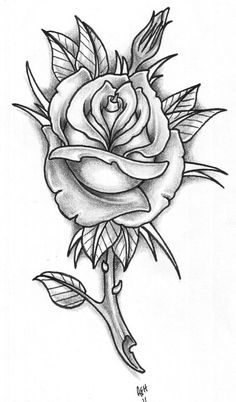 Inspirational tattoos rose tattoo