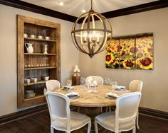 Mediterranean Dining Room Design, Pictures, Remodel, Decor and Ideas