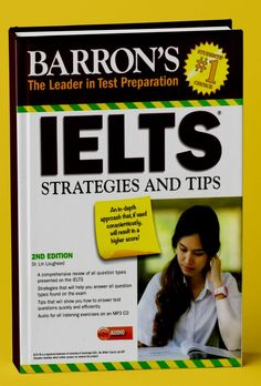 Barron's. IELTS Strategies and Tips will provide you with the strategies and tips to tackle like a champ on IELTS Exam. Great Books To Read, Good Books, Ielts Tips, Exams Tips, Test Preparation, Any Book, Audio, Student, Reading