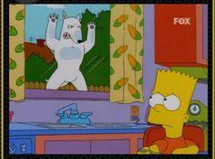 Bart Simpson's Bull Terrier