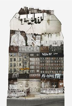 The Spirit of Cities Captured in Collage,Germany. Image Courtesy of Anastasia Savinova
