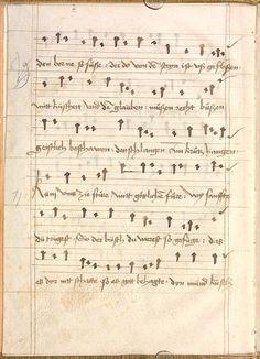 Sequentia 'Ave praeclara', Teutonicis verbis Erffordie compillatus 1492  Cgm 7351  Folio 12