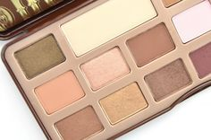 Too Faced Chocolate Bar Eye Palette, chocolate eyeshadow, canadian beauty blogger #toofaced