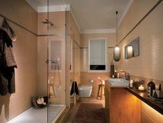 La salle de bain avec douche italienne 53 photos!   Concrete and ...