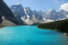 """i need to go. theworldwelivein: """" Moraine Lake, Alberta, Canada © NaturalLight Moraine Lake is a glacially-fed lake in Banff National Park, 14 kilometres mi) outside the Village of Lake Louise,. Vacation Destinations, Dream Vacations, Vacation Spots, Oh The Places You'll Go, Places To Travel, Places To Visit, Parc National De Banff, National Parks, Image Nature"""