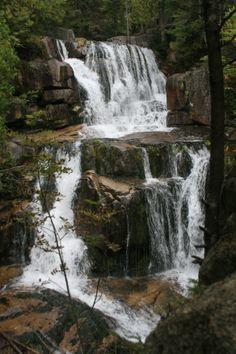 Katahdin Falls, Baxter State Park, Maine