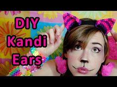 Kandi Mask Patterns, Fuse Bead Patterns, Beading Patterns, Hama Beads, Fuse Beads, Pony Bead Projects, Pony Bead Crafts, Diy Kandi Bracelets, Make Your Own Costume