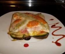 Receta Milhojas de verdura con jamón ibérico y queso provolone por Vane.79 - Receta de la categoria Verduras y hortalizas Receta Milhojas de verdura con jamón ibérico y queso provolone por Vane.79 - Receta de la categoria Verduras y hortalizas