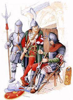 N. Italian crossbowman, late 15th C.