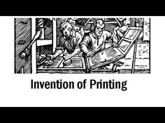 video Johann Gutenberg printing press: Who invented printing? [Inventors and inventions; history online]