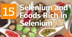 Selenium and Top 15 Foods Rich in Selenium   Did You know, that #selenium   deficiency is associated with the increased risk of #cancer   by some scientists?#selenuimfood   #healthyeating   #healthyfood   #superfoods  by #recipeofhealth