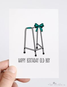 Rude Birthday Card  Funny Birthday Card  His by LostMarblesCo, £2.75