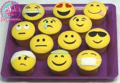 Cupcakes Emoticones
