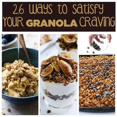 26 Ways To Satisfy Your Granola Craving