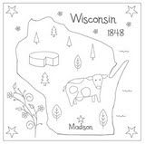 The Floss Box | Embroidery Patterns - has all the states and the US