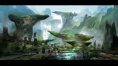 Green Ledges by Simon Scales | Fantasy | 2D | CGSociety