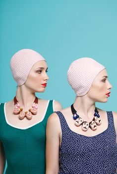 """The Swimmers - The Dina Khalife Spring/Simmer 2015 collection titled """"The Swimmers"""" will be of mass appeal to those with an appreciation of aquatic st..."""