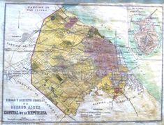 Mapa de la primera distribucion de la ciudad de Buenos Aires