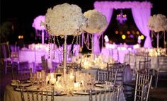 Pretty Centerpieces #wedding kapaulet