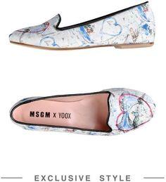 MSGM X YOOX Ballerina