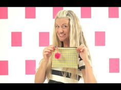 Leave space in the fabric tab attached to the zipper so seam is not bulky. How to sew a lined Zipper Pouch--great for Beginners! - YouTube
