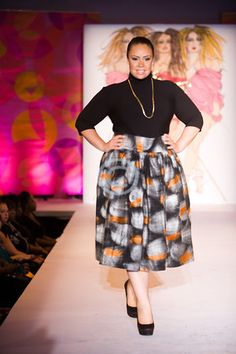 Full Figured Fashion Week™ Indie Designer Spotlight: JIBRI http://www.etsy.com/shop/jibrionline
