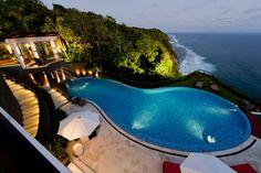 The Edge, Indonesia. Dramatic Villa