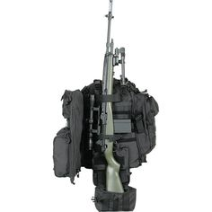 Voodoo Tactical Praetorian Rifle Pack with adjustable padded shoulder straps, mu… Voodoo Tactical Praetorian Rifle Pack with adjustable padded shoulder straps, multiple pockets for tons … Voodoo Tactical, Tactical Survival, Tactical Gear, Tactical Packs, Tactical Clothing, Tactical Backpack, Camping Survival, Survival Gear, Combat Gear