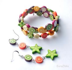 fruits fimo #polymerclay
