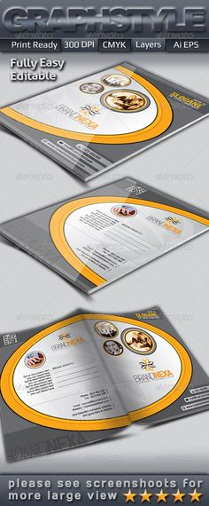 Brandnexa_Presentation Folder - Stationery Print Templates