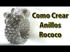▶ Ebook y Video Como Crear un Anillo con Malla Plana - Videos tutoriales joyeria crochet - YouTube