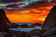Sun in Titahi Bay, NZ