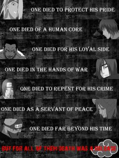 This so depressing, it literally makes me cry... [But for all of them, death was a release]